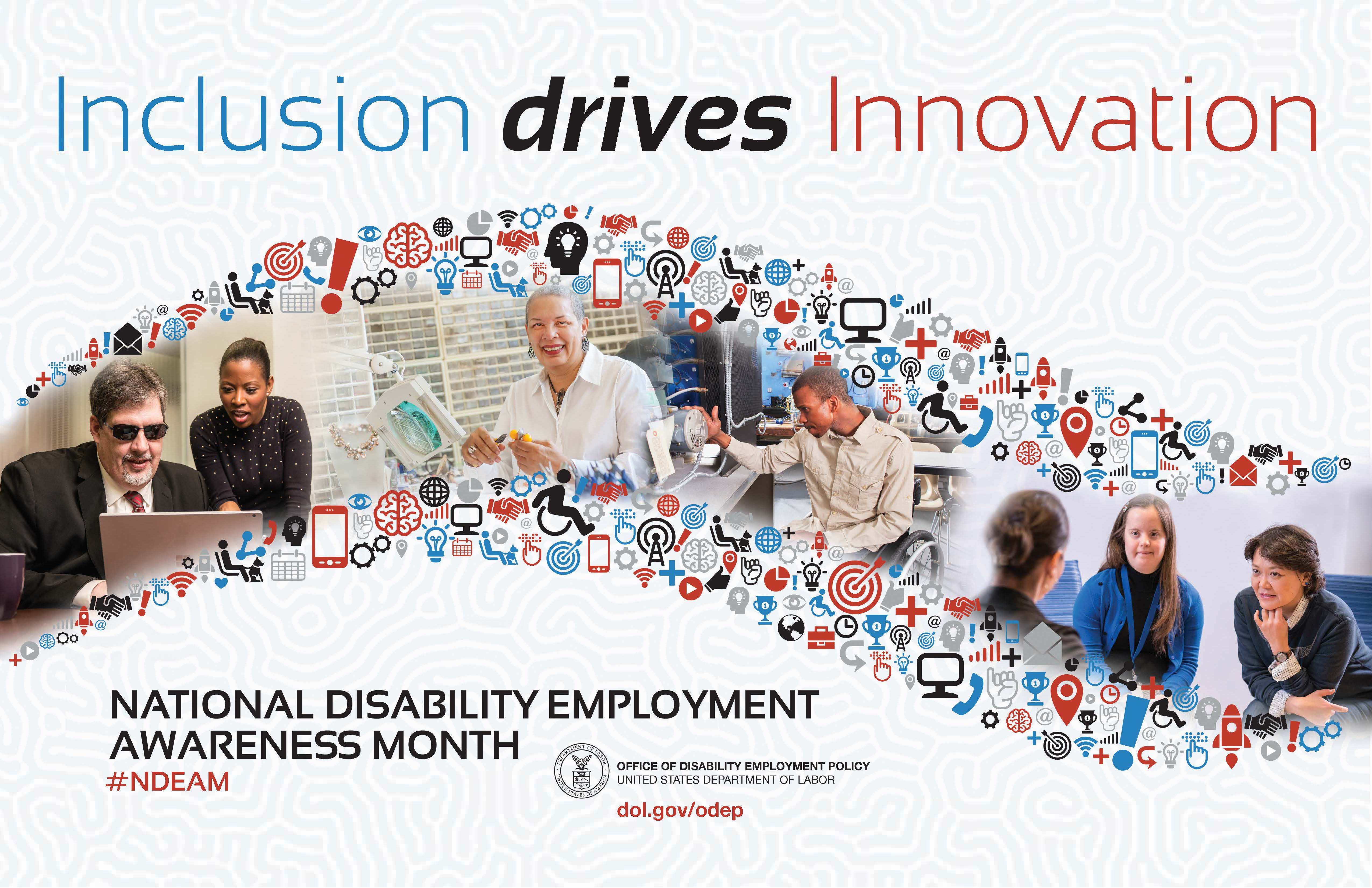 National Disability Employment Awareness Month Flyer