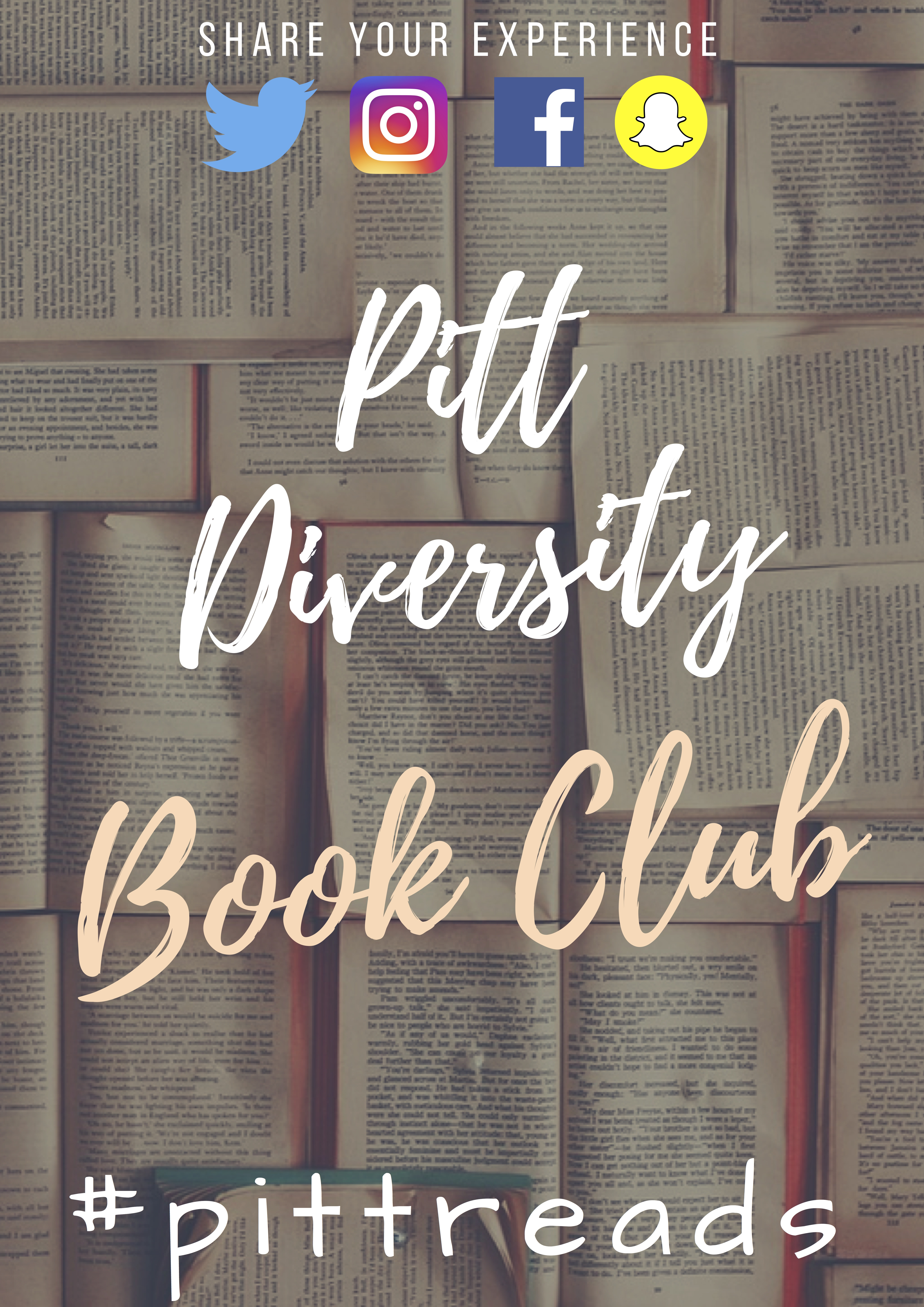 Pitt Diversity Book Club #pittreads